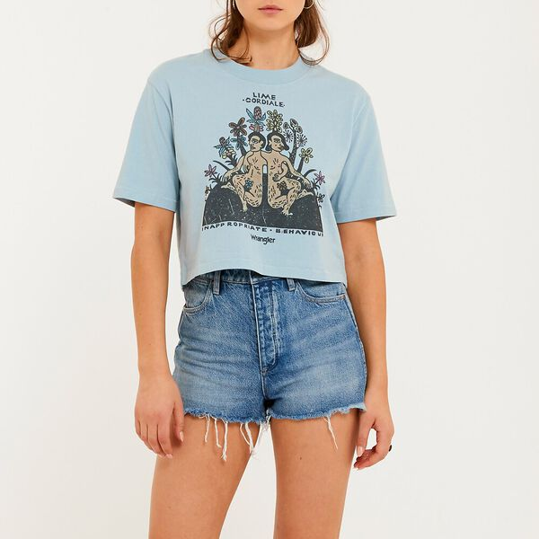 Inappropriate Crop Tee