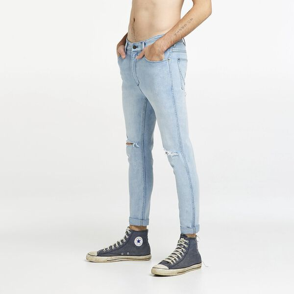 Smith R28 Skinny Cropped Jean, Southside Blue, hi-res