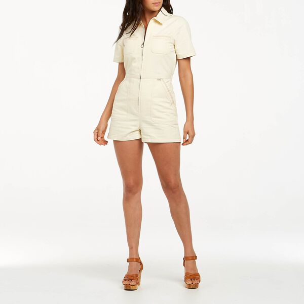 Sunset Romper, Divinity White, hi-res
