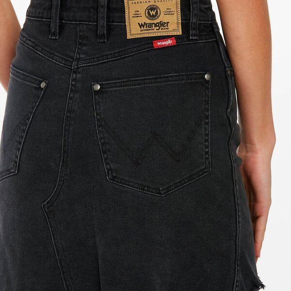 Repair Mini Skirt, Vintage Black, hi-res