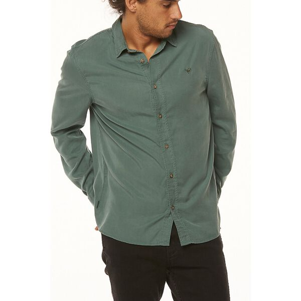 DOING IT CLEAN SHIRT, Washed Green, hi-res