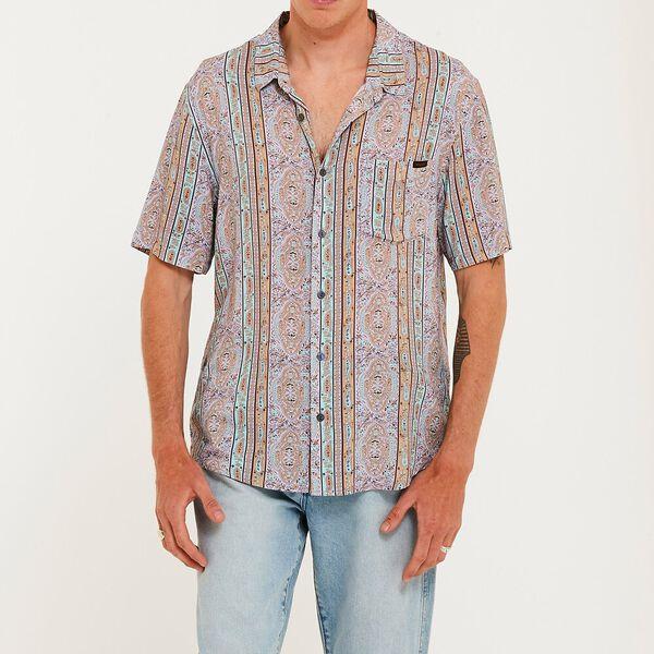 Garageland Short Sleeved Shirt, Other Voices, hi-res