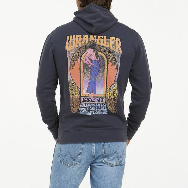 LADY WRANGLER HOODY FADED INK, Faded Ink, hi-res
