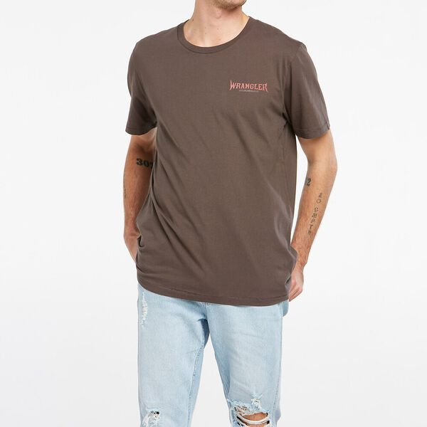 Misty Mountain Recycled Cotton Tee, Slate, hi-res
