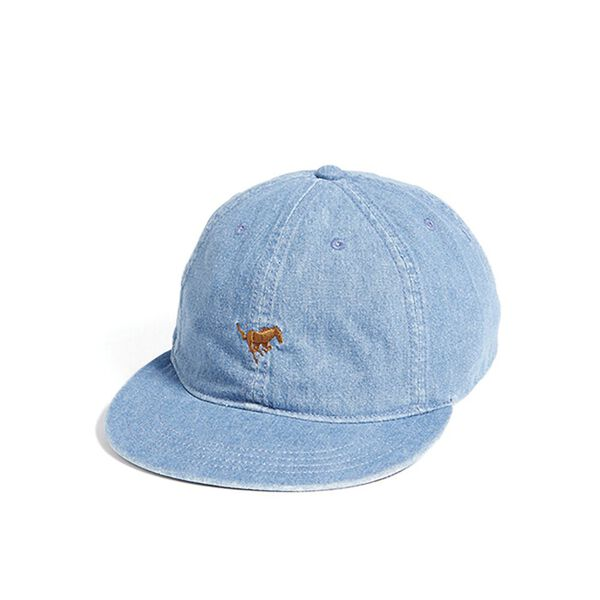 Horse Cap Washed Indigo