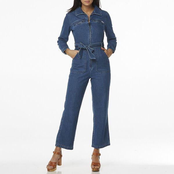 Lady Divine Boilersuit, Riverside Blue, hi-res