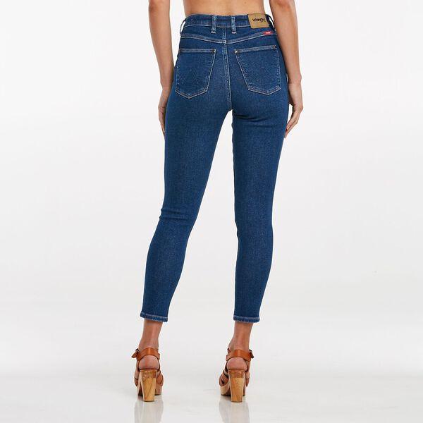 Hi Pins Skinny Cropped Jean, Odyssey Indigo, hi-res