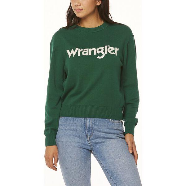 Wrangler Sweater Green/White