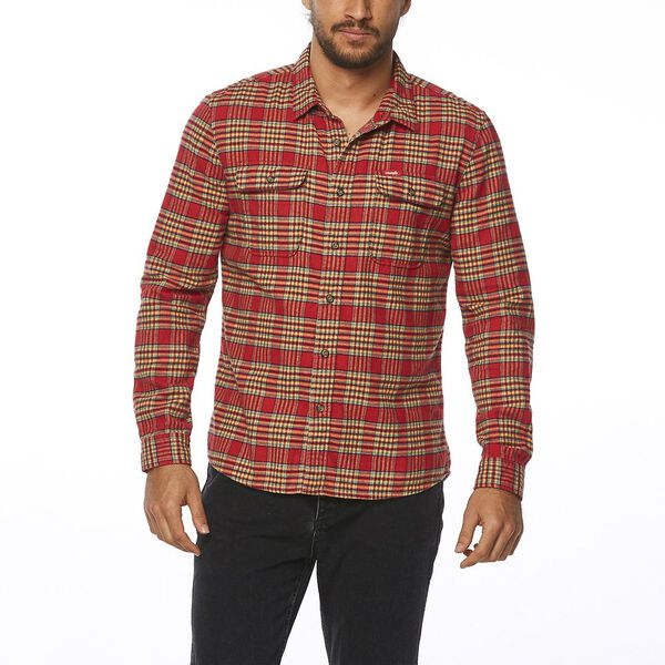 LOCK IN SHIRT RED CHECK