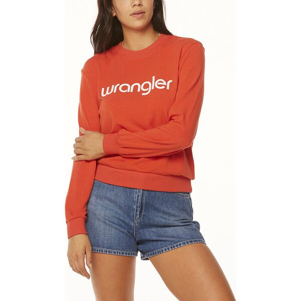 Munroe Sweater Orange Sun