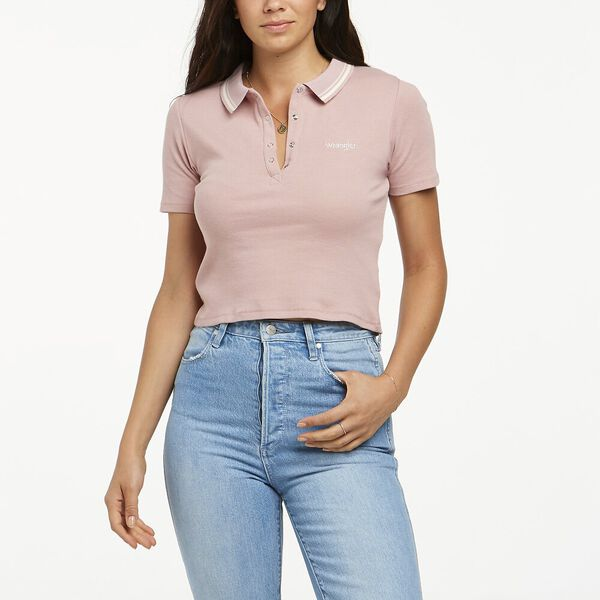 MARGOT POLO DUSTY PINK, Dusty Pink, hi-res