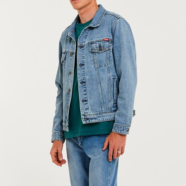 Inappropriate Trucker Jacket, Original Blue, hi-res