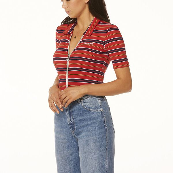 Bleeker Body Suit Red Stripe, Red Stripe, hi-res