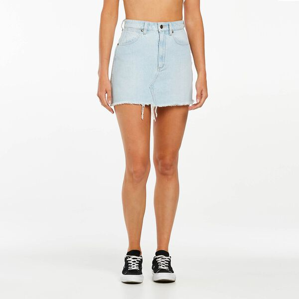 Repair Mini Skirt, Clairvoyant Blue, hi-res
