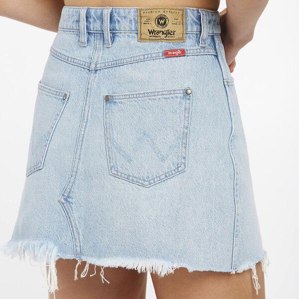 Repair Mini Skirt, Ecology Blue, hi-res