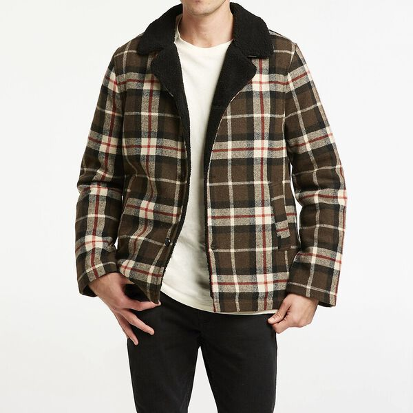 Cabin Sherpa Jacket, Northside Check, hi-res