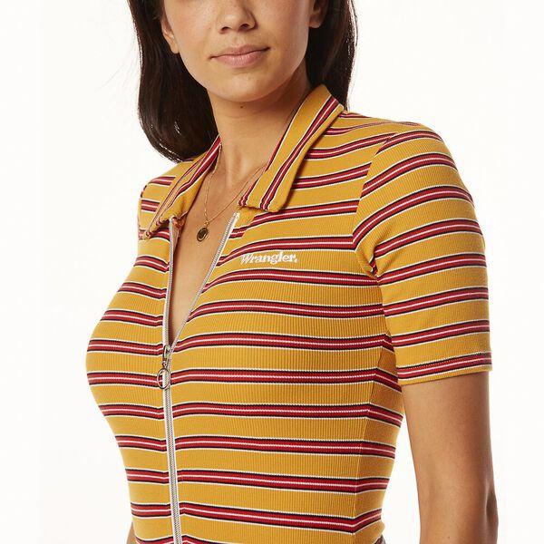 Bleeker Body Suit Mustard Stripe, Mustard Stripe, hi-res