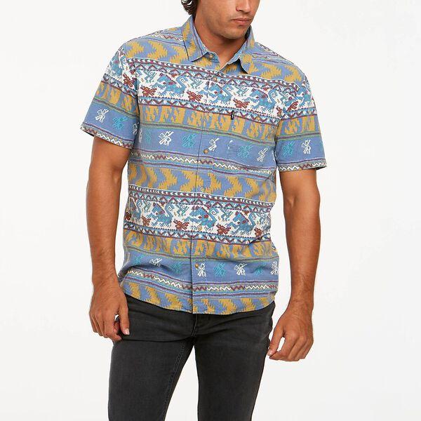 Slater Short Sleeve Shirt, Seven Wonders Pattern, hi-res