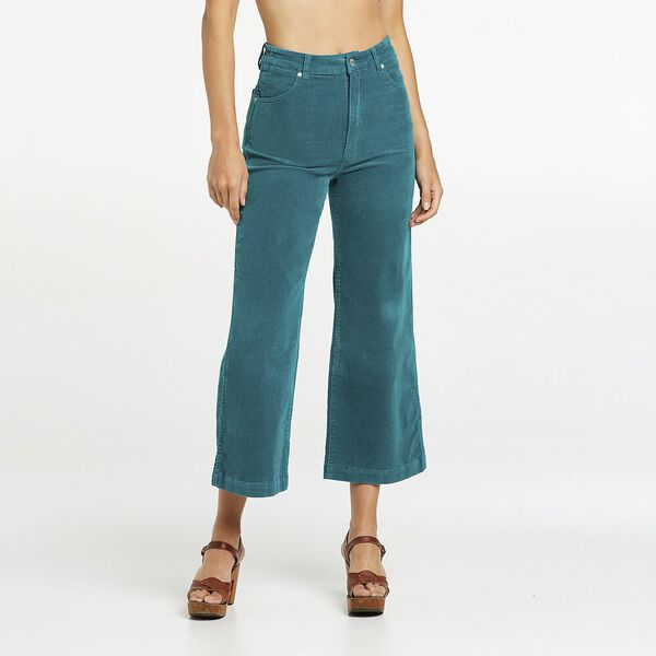 Hi Bells Flared Cropped Jean