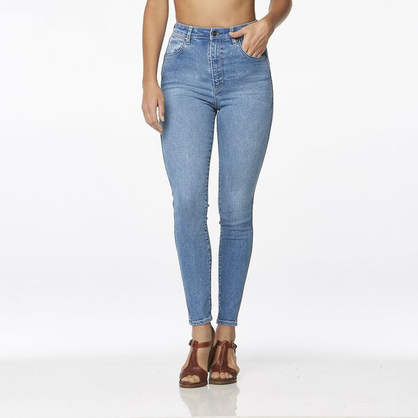 Hi Pins Cropped Highway Queen Bl
