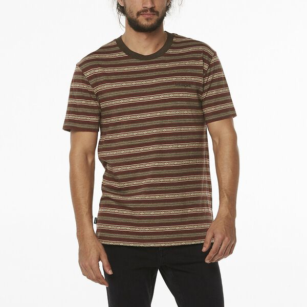 Tide Times Tee Tribal Stripe