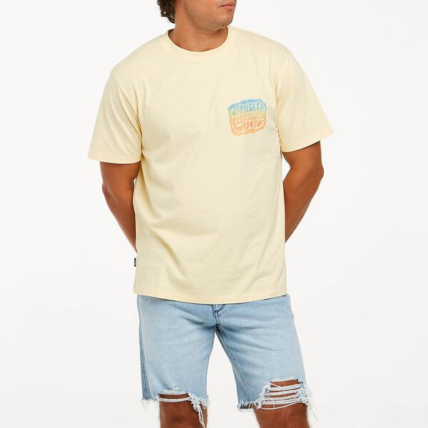 Spectrum Tee, Barley Yellow, hi-res