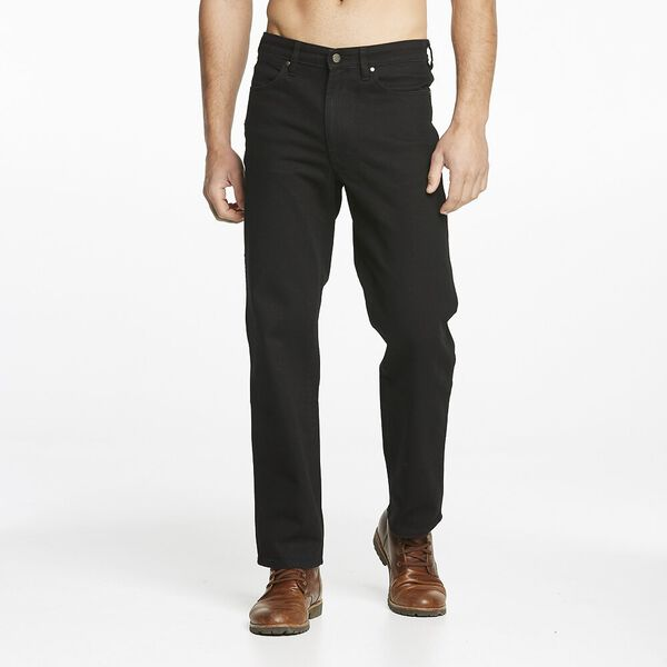 Z/Fly Straight Jean Black Rinse