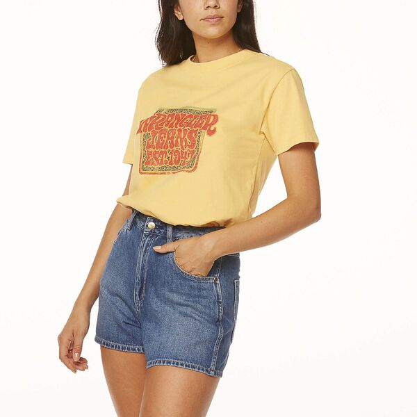 Down Time Tee, Soft Yellow, hi-res