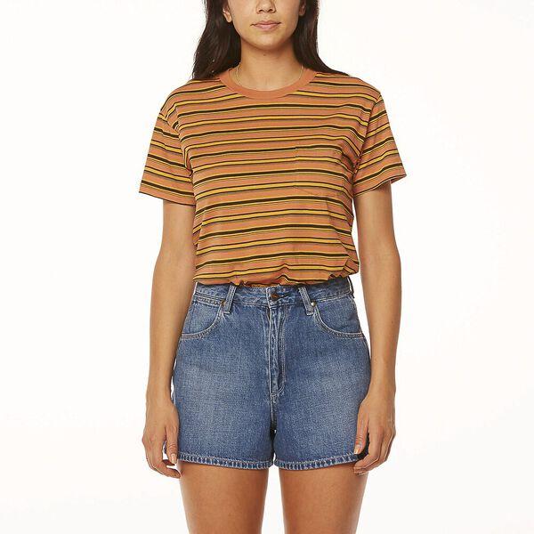 Palmdale Tee Melon Stripe, Melon Stripe, hi-res