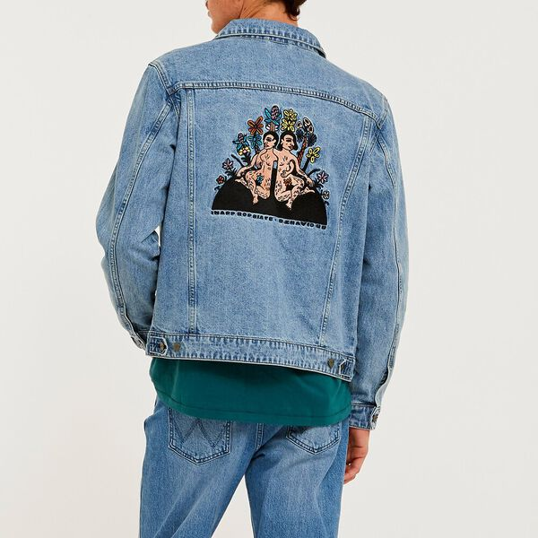 Inappropriate Trucker Jacket