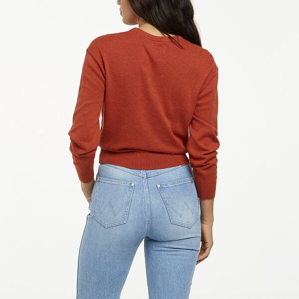 Bailey Sweater Rust Marle, Rust Marle, hi-res