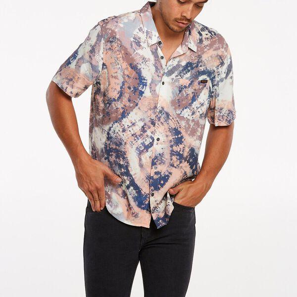 Garageland Short Sleeve Shirt, Ink Dye, hi-res