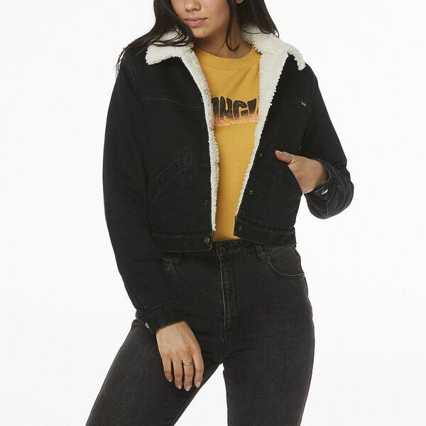 Blondie Sherpa Denim Jacket