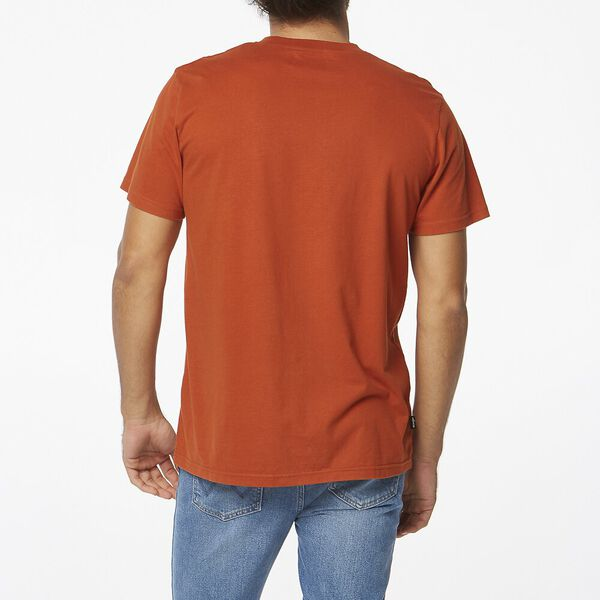 Outlines Ss Tee, Rust, hi-res