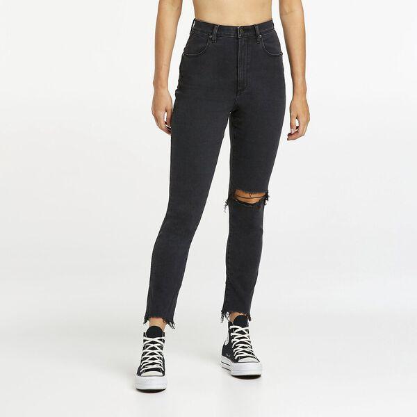 Tyler Slim Cropped Jean, Deelite Black, hi-res
