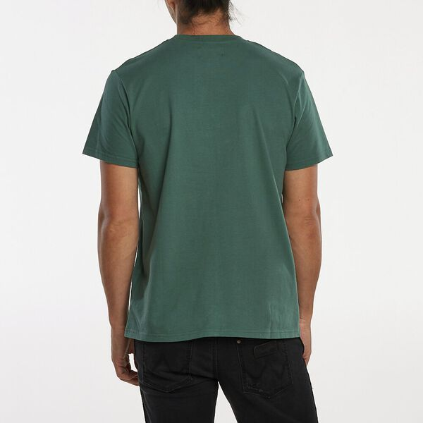 Outlines Ss Tee, Pine Green, hi-res