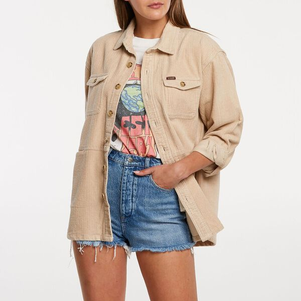 Paper Doll Shirt, Ash Rose, hi-res