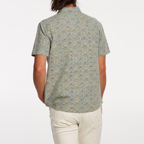 Slater Short Sleeve Shirt, El Rodeo Pattern, hi-res