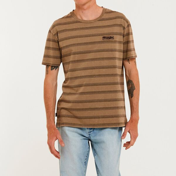 Vedder Striped Tee, Overdye Stripe, hi-res