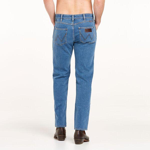 Classics Slim Straight Jean, Washed Stone Indigo, hi-res