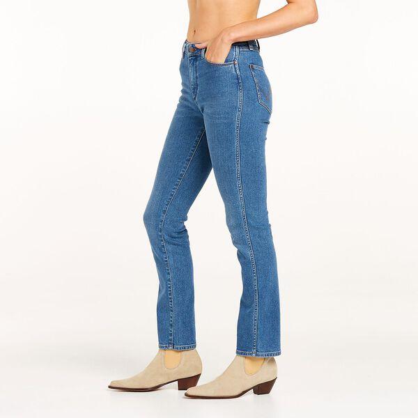 Classics Mid Waist Straight Jean