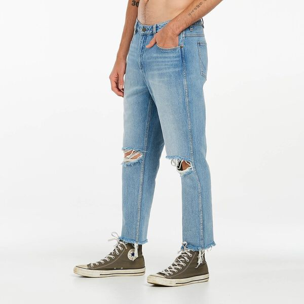 Spencer Straight Jean Chopped, Rebel Fade Blue, hi-res