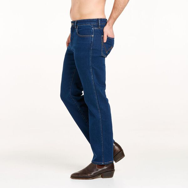 Classics Slim Straight Jean, Double Rinse Indigo, hi-res