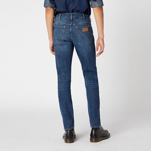 Icons 11MWZ Western Slim Jean, Dark Trace Blue, hi-res