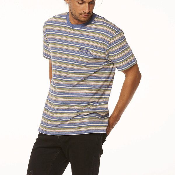 Vedder Tee, Dusty Stripe, hi-res